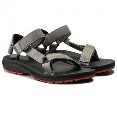 Teva Winsted Solid mens black-red
