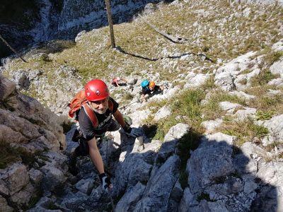 5 Pohodové lezení ve spodní části