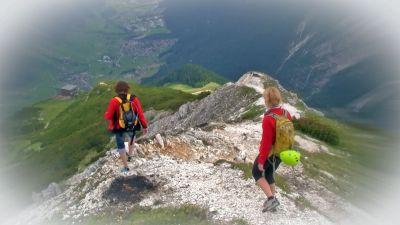 13 Sestupová cesta k Elferhütte