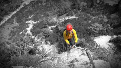 9 V Siega Klettersteig