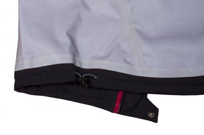Protector 5.0 Jacket Black_stahování spodního okraje bundy