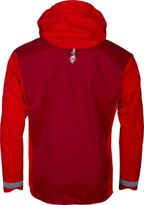 Protector 5.0 Jacket Red_Red Dahlia back