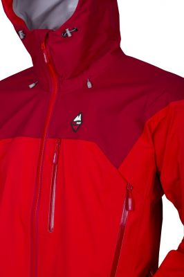 Protector 5.0 Jacket Red_Red Dahlia_detail2