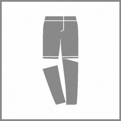 Odepínací nohavice