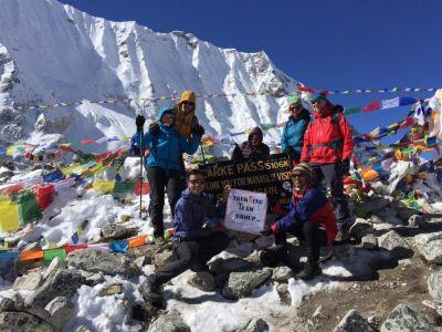 11b) sedlo Larke 5160 m