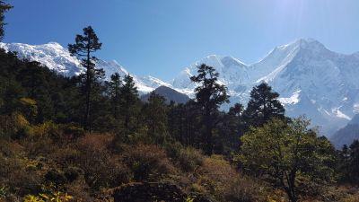 12d) larke peak, manaslu notth a manaslu