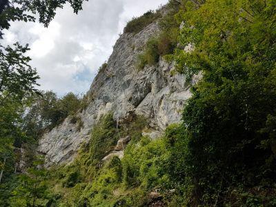 7) stěna se žebříkem