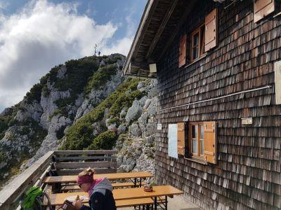 10) Chata Reichenhaller s vrcholem
