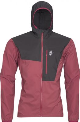 Helium Pertex Jacket brick red_black