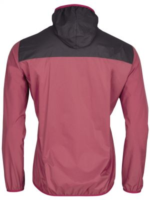 Helium Pertex Jacket brick red_black-back
