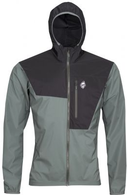 Helium Pertex Jacket laurel khaki_black