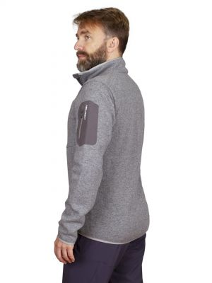 Skywool 5.0 sweater grey - postava bok
