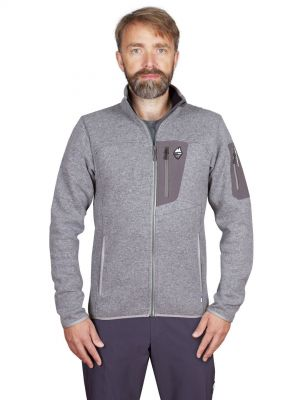 Skywool 5.0 sweater grey - postava