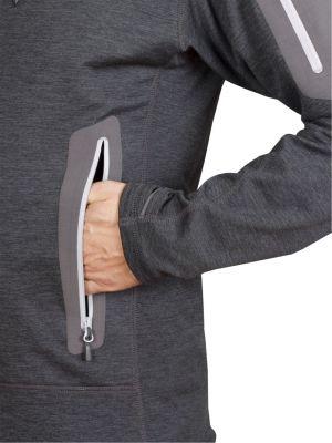 Woolion 2.0 Merino Sweatshirt antracit - spodní kapsa