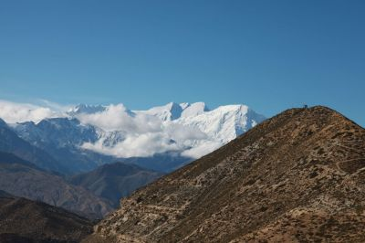 3a Hřeben Himálaje s Annapurnou I