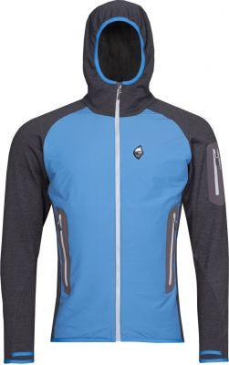Merino Alpha Hoody Jacket swedish blue_antracit