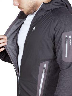 Merino Alpha Hoody Jacket black_antarcit - zateplení materiálem Polartec Alpha