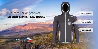 Merino Alpha Lady Hoody