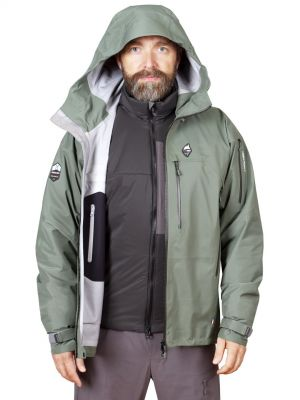 Protector 5.0 Brother Jacket laurel khaki + Epic Jacket black