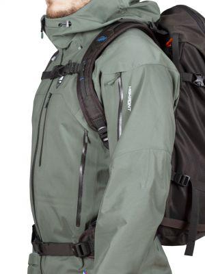 Protector Brother 5.0 Jacket laurel khaki - detail s batohem