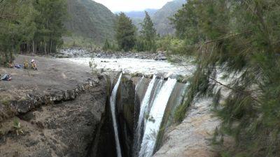 7c Vodopád Les Trois Roches