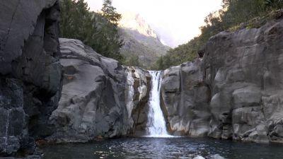 Vodopád nedaleko Cilaos