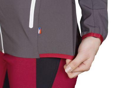Atom Lady Hoody Jacket Iron Gate- detail pruženka spodní část bundy