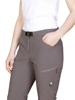 Atom Lady Pants Iron Gate - detail horní kapsa