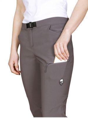 Atom Lady Pants Iron Gate - detail stehenní kapsa