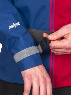 Radical 3,0 Jacket dark blue_dahlia red jednodotykové stažení manžety rukávu