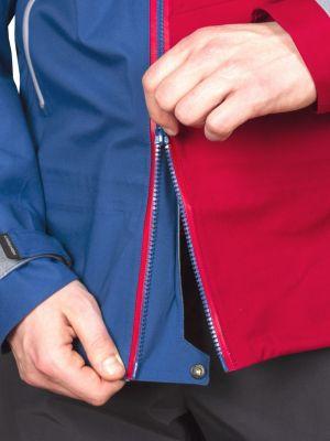 Radical 3,0 Jacket dark blue_dahlia red možnost rozpenutí bundy od spodu