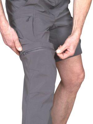 Saguaro 4.0 Pants Iron Gate - možnost odepnutí nohavic