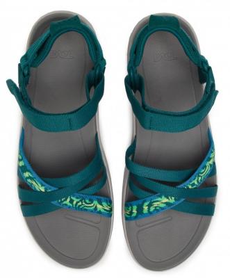 Teva sanborn sandal womens Thena Deep Lake Multi