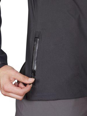 Active Lady Jacket black kapsička v boku