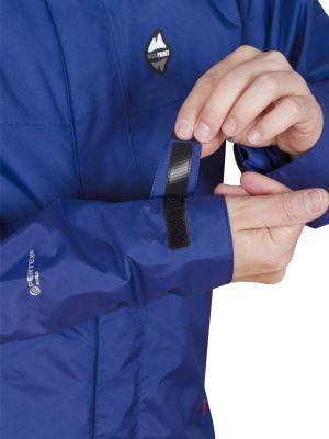 Montanus Jacket Dark Blue - stažení manžety rukáv