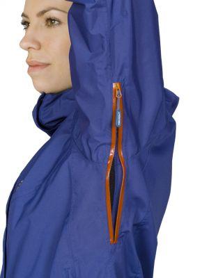 Montanus Lady Jacket dark blue - odvětránáí v podpaží