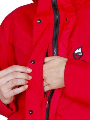 Montanus Lady Jacket red - napoleonská kapsa