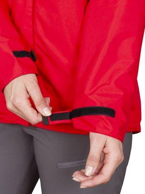 Montanus Lady Jacket red - staženi manžety rukávu