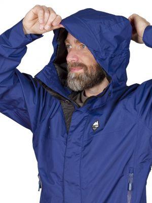 Montanus Jacket Dark Blue - kapuce