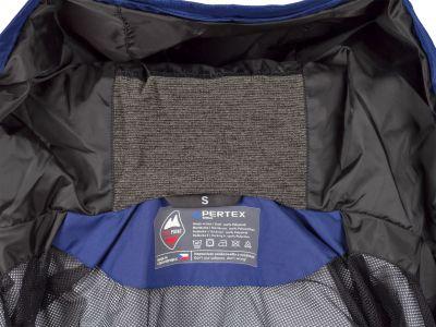 Montanus Jacket Dark Blue - klín z merino vlny na kapuci