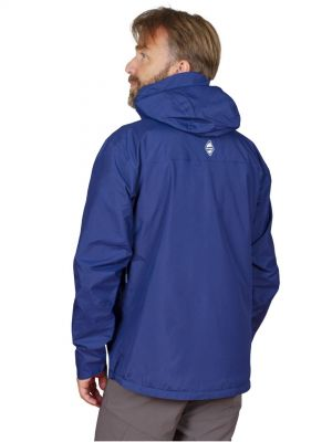 Montanus Jacket Dark Blue - pohled ze zadu
