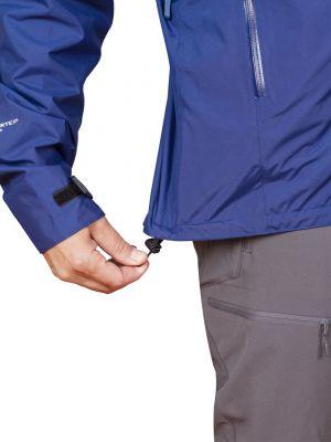 Montanus Jacket Dark Blue - stažení spodního okraje bundy