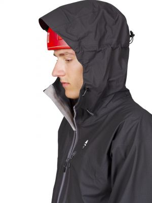 Cliff Jacket black - kapuce s přilbou