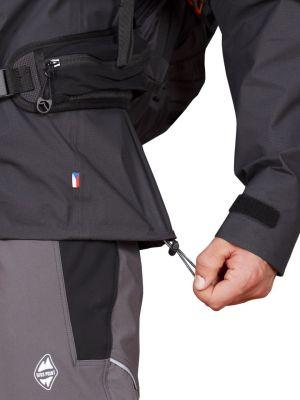 Cliff Jacket black - stahování spodního okraje bundy