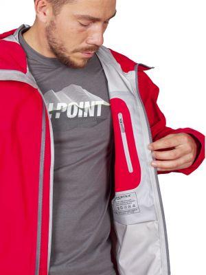 Cliff Jacket red - vnitřní kapsa