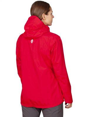 Montanus Lady Jacket red - zadní pohled