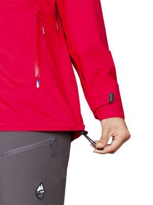 Montanus Lady Jacket red - stažení spodního okraje bundy