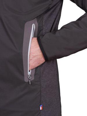 Total Alpha Jacket black - detail spodní kapsa