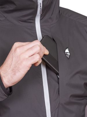 Total Alpha Jacket black - hrudní kpasa