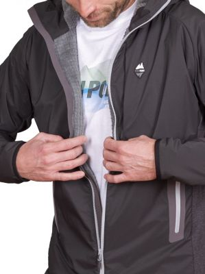 Total Alpha Jacket black - interier Polartec Alpha